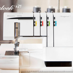 Huskylock™ s21 Embroidery Machine